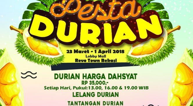 Dari Pesta Durian Hingga Grup Band Barasuara Ada di REVO Town