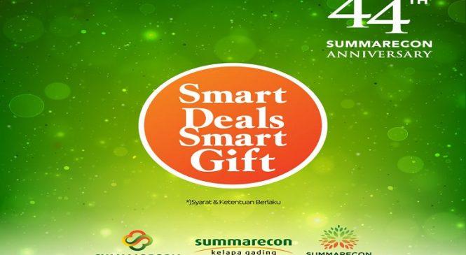 Smart Deals, Smart Gift', Promo Akhir Tahun Summarecon
