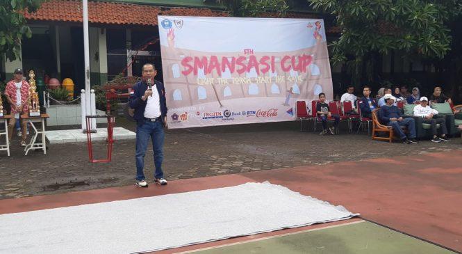 Ketua IKA SMAN 1 Kota Bekasi Membuka Agenda SMANSASI CUP 2020