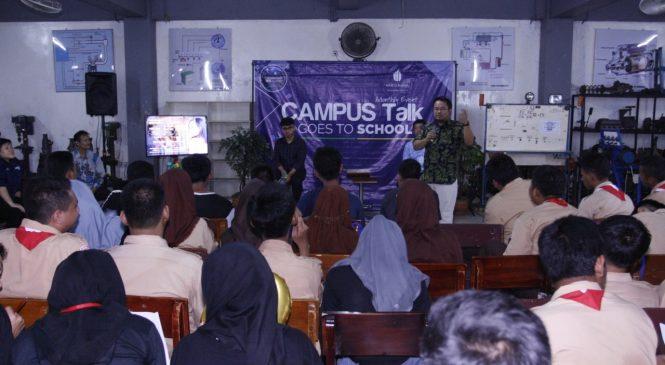 UMB Campus Goes to SchoolTawarkan Konsep Kota Ramah Air