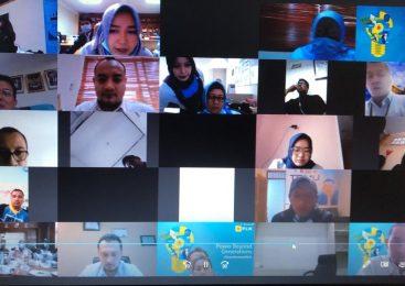 Bersama PLN UID Jawa Barat, UP3 Bekasi Ikuti Zoom Meeting dengan Awak Media