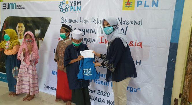 Momen HPN, PLN UP3 Bekasi Sambangi Pelaku UMKM dan Yayasan Yatim Piatu