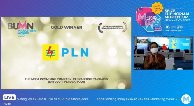 PLN Diganjar Penghargaan, PLN UP3 Cikarang Terus Berikan Layanan Terbaik