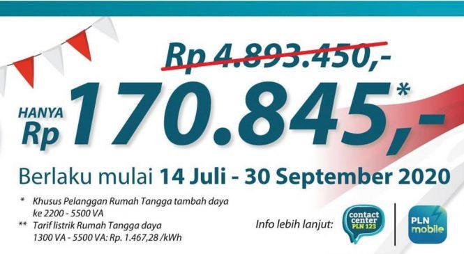 "Program Diskon Tambah Daya Listrik ""SUPER WOW"" oleh PLN UP3 Bekasi Tembus 7.952"