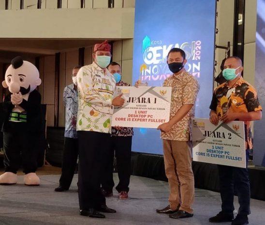 Disdukcapil Kota Bekasi Juara 1 Kategori OPD Terinovasi 2020