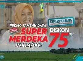 "Kabar Baik Bagi UMKM, Program Diskon PLN ""Super Merdeka"" Diperpanjang Hingga 30 November"