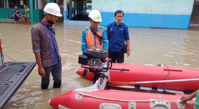 PLN UP3 Bekasi Terus Monitoring Wilayah Terdampak Banjir