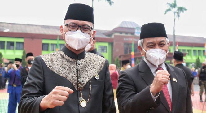 Presiden PKS Hadiri Upacara Peringatan HUT Ke-24 Kota Bekasi