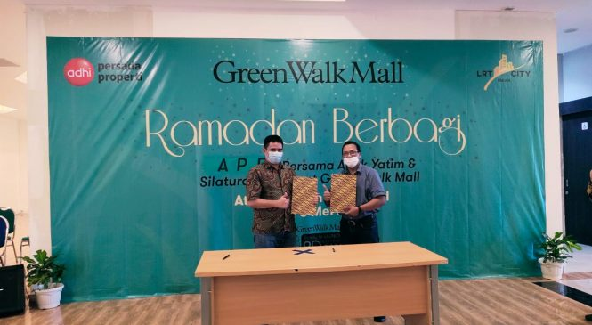 Green Walk Mall Perkenalkan Manajemen Baru