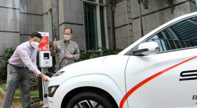 Dukung Program Percepatan Mobil Listrik, Jababeka dan Starvo Hadirkan SPKLU Mandiri