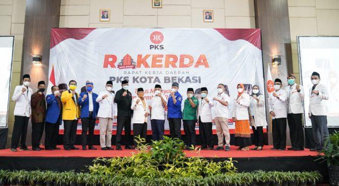 Gelar Rakerda, PKS Siap Berkolaborasi Dengan Semua Elemen di Kota Bekasi