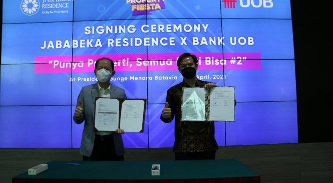 Bantu Milenilal Miliki Properti, Jababeka Residence Kolaborasi dengan Bank UOB