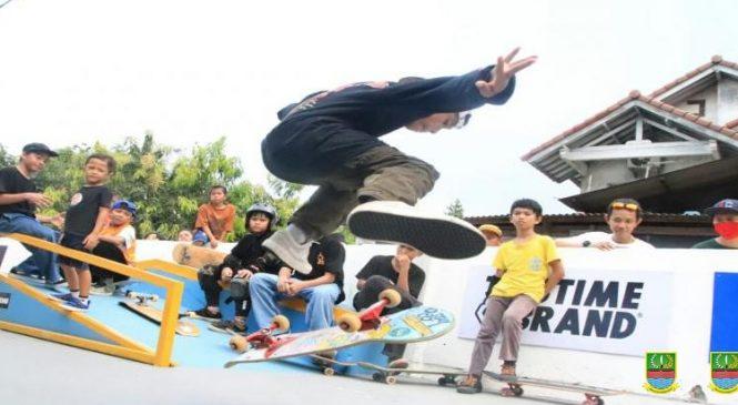 Binaan Skateboard Kabupaten Bekasi Diarahkan ke Prestasi