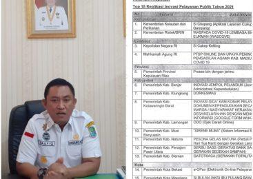 Mantap, Inovasi E Open Disdukcapil Kota Bekasi Masuk Top 15 Finalis Kemenpan RB