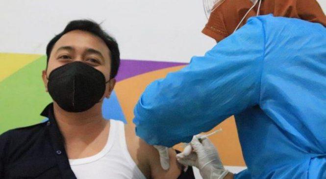 900 Atlet dan Pengurus KONI Kabupaten Bekasi Jalani Vaksinasi Covid