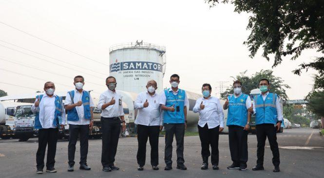 PLN Pastikan Keandalan Pasokan Listrik di Perusahaan Produsen Oksigen Bagi Pasien Covid-19 di Kabupaten Bekasi