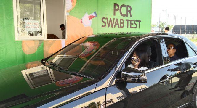 BKPM Laboratory Buka Shelter PCR SWAB Test di Jababeka