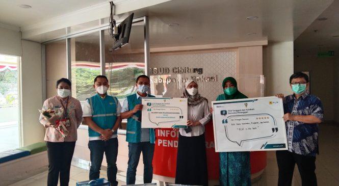 Di Hari Pelanggan Nasional, PLN UP3 Cikarang Sambangi RSUD Kabupaten Bekasi